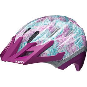 KED Dera II Helmet Kids Purple White